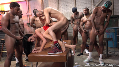 Big Boobs Jasmine Jae Gangbanged By Huge Black Dicks