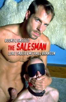 Description Bound and Gagged - The Salesman