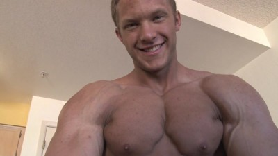 Pumping Muscle - Bodybuilder Sam S Photo Shoot Part 3