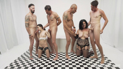 Creampie Gangbang Battle With Double Fuck