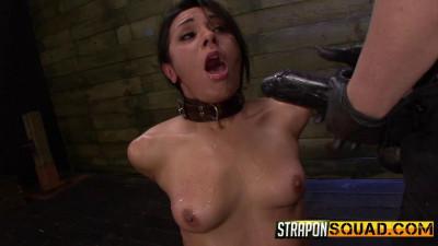 Slutty Slave Isa Mendez Dominated by Lexy Villa & Brooklyn Daniels – HD 720p