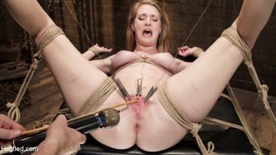 Hot Blonde Squealer in Intense Orgasm Overload