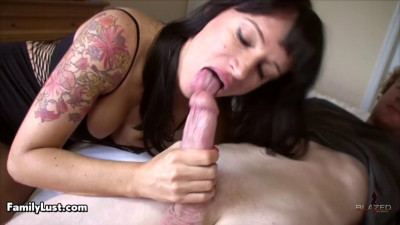 Angie Noir - Step-mom seduction