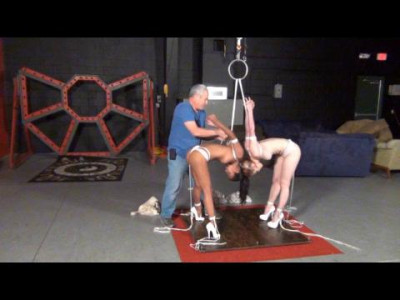 Drea and Zonah in How to tie a Two Girl Strappado