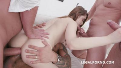 Anal Slut Alita Angel Gangbanged With DP & Dap