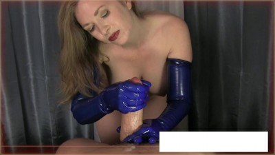 Mistress T It gives the gloves penises