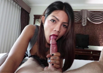 Asian Ladyboy Assfucked By Hard Dick