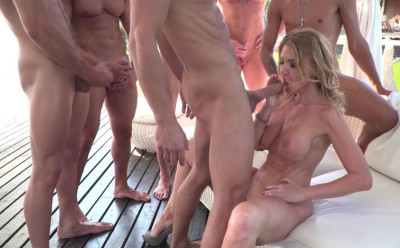 Description Busty Milf Gets Hardcore Orgy At Rocco's Academy