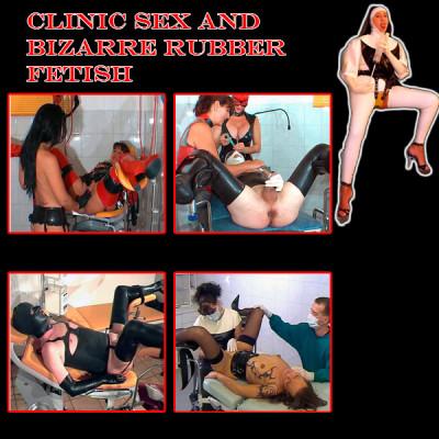 Clinic Sex and bizarre rubber fetish 21