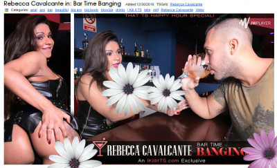 Rebecca Cavalcante in Bar Time Banging!