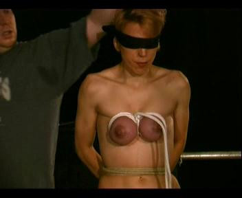Torture Of Female Breast, Painful Torture Used Binding And Squeezing His Chest And Hanging