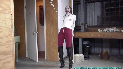 Rachel Crotchroped and Post Tied – Part 1