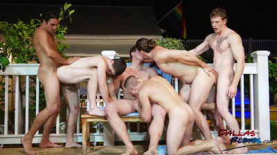 DallasReeves Hungry Jock Orgy  Part 2