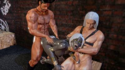 Saga and Sephiroth Vs. Nualia – Alley – Full HD 1080p