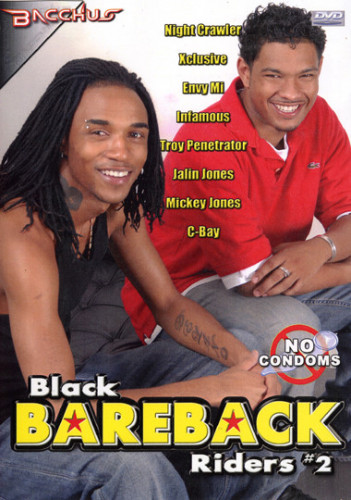 Black Bareback Riders Vol. 2 - Night Crawler, Envy Mi, Xclusive
