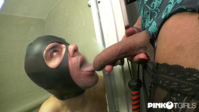 The Amazing Subdues The Slave With Her Huge Cock