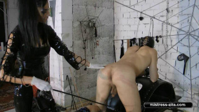 Mistress Zita - Blowjob And Whipping
