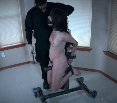 Metal Bondage For Sex Slave