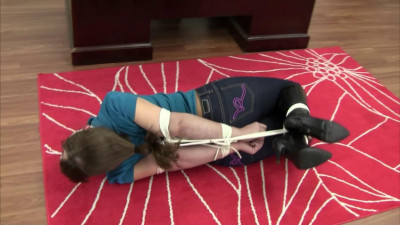 Elizabeth Andrews – Hogtied In Boots And Jeans