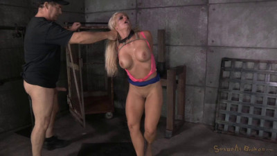 Sexy Holly Heart fucked rough and hard by 2 cocks!