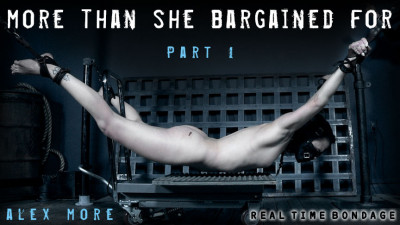 RealTimeBondage - More Than She Bargained For Part 1