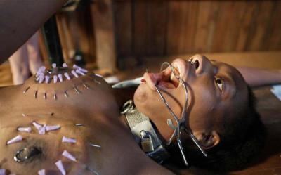 Most cruel BDSM for slave