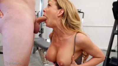Lustful Milf seduced a fitness instructor