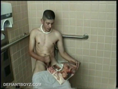 Straight Boy Ethan Toilet Jacking