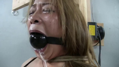 Tight bondage, domination and strappado for two hot models HD 1080p