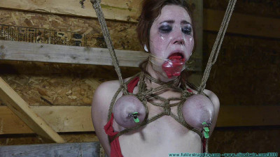 Barnyard Bondage For Riley Her Ordeal Continues 3  Part – BDSM,Humiliation,Torture HD 720p