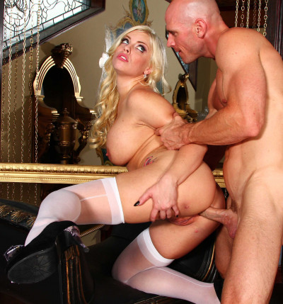 His Cock Balls Deep In Her Sexy Hot Ass