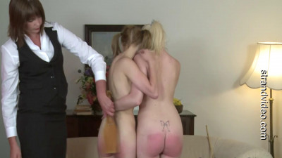 Strendvideo - Big boobed Katie spanked