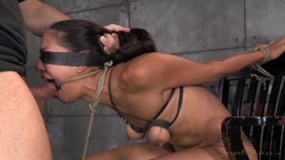 Lyla Storm Brutally Bound In Strict Strappado