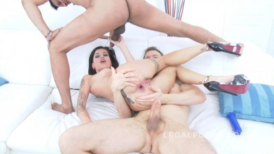 Sylvia Dellai 0% pussy DAP (only anal fucking)