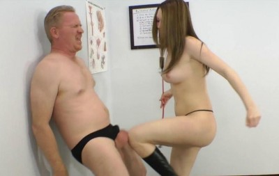 Megan Loxx - Ballbusting Auditions