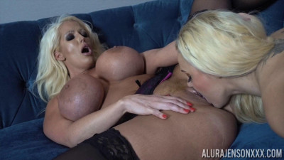 Alura Jenson with Dolly Fox