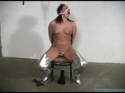Brandy HogCuffed Nude pt.2