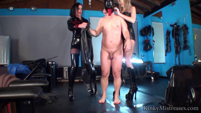 Straight Jacket And Arse Fun
