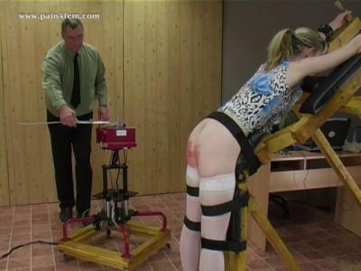 Description The spanking machine