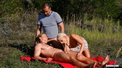 sex outdoor sex cum - (BiMaxx Bringing Bi To The Great Outdoors)