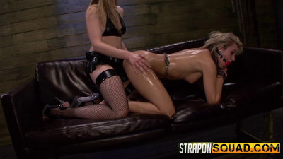 Marina Angel is Dominated by Riley Rays Strapon Dildo (2014)