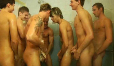 Bare Orgy For Piss Ballers