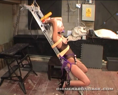 Blonde Slave Orgasm