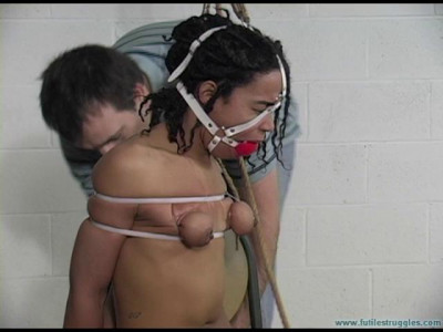 JeC and the Vigilante Prequel-Cruel Nude Bondage for JeC 2 part