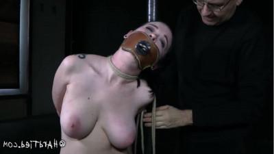 Hard bondage, spanking, hogtie and torture sexy girl part 1
