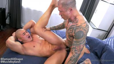 Raw Fuck With Muscle Asian Males Aaron Chu & Damian Dragon