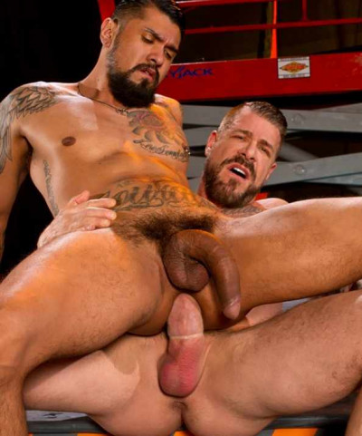 Rough Anal Fuck With Monster Cocks - Boomer Banks, Rocco Steele