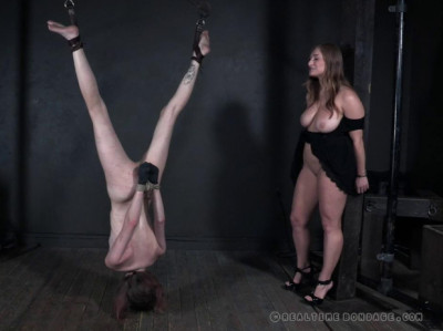 Serious whipping for two slaves