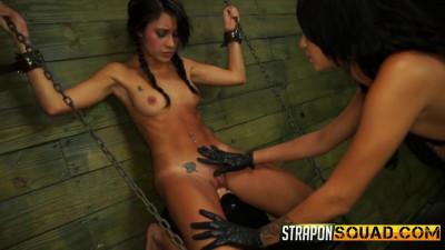 Marina Angel Loves Lesbian Domination And Sybian with Esmi Lee (2015)