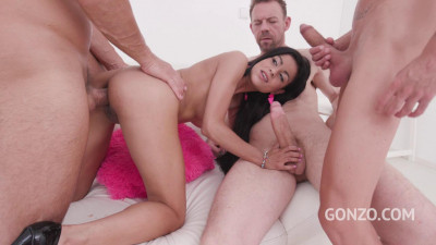 Sandra Soul anal DAP 3on1 for Gonzo